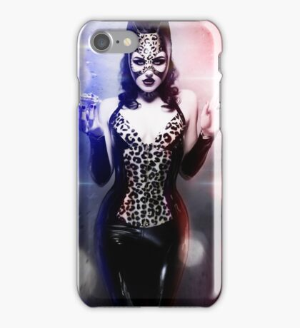 Catwoman - Caught in the act iPhone Case/Skin