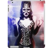 Catwoman - Caught in the act iPad Case/Skin
