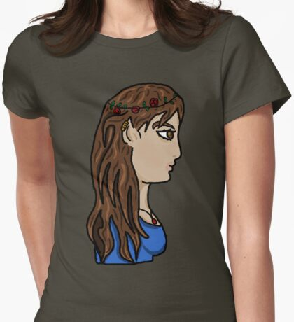 Elf Lady Lana Womens Fitted T-Shirt