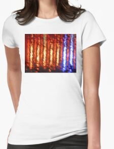 53 River Reflection Womens Fitted T-Shirt
