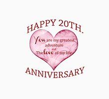 20th. Anniversary Unisex T-Shirt