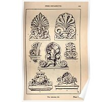 A Handbook Of Ornament With Three Hundred Plates Franz Sales Meyer 1896 0185 Free Ornaments Akroter Poster