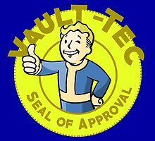Vault-Tec Seal of Approval - Clean by CheekySherwin