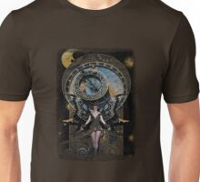 Iaconagraphy: Time Guardians: Steampunk Celestial Unisex T-Shirt