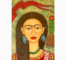 My homage to Frida Kahlo Womens Fitted T-Shirt