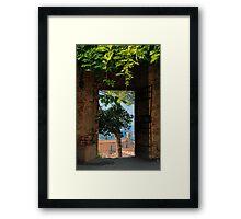 Ancient Portal Framed Print