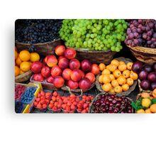 Mediterranean Fruits Canvas Print