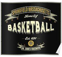 Vintage Basketball Poster