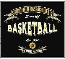 Vintage Basketball Photographic Print