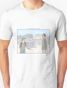 Gone With The Wind + Malcolm In The Middle T-Shirt