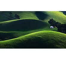 Light and Shade - Gippsland Photographic Print