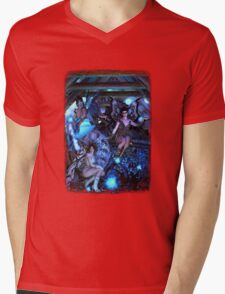 Iaconagraphy: Time Guardians: The Attic Mens V-Neck T-Shirt