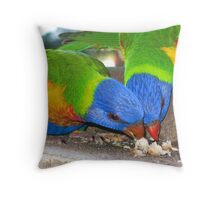 Is That My Piece Or Yours? Throw Pillow