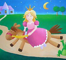 Princess and the frog by Koekelijn