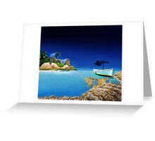 Exotic Holiday Destination  Greeting Card