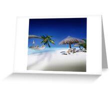 Exotic Holiday Destination  Greeting Card