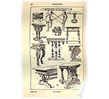A Handbook Of Ornament With Three Hundred Plates Franz Sales Meyer 1896 0458 Furniture Table Poster