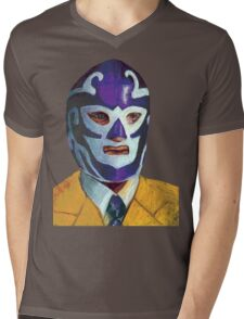 El señor es mi pastor Mens V-Neck T-Shirt