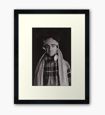 FP4 film Framed Print