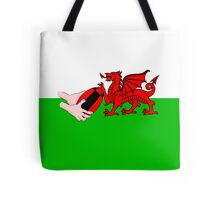 Wales Rugby Flag Tote Bag