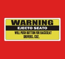 Warning - ejecto seato One Piece - Short Sleeve
