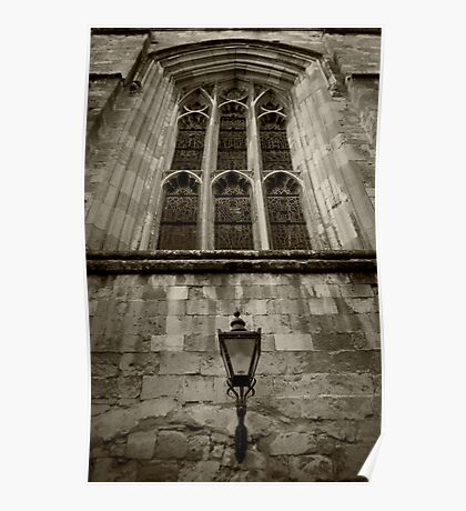 Lights of Winchester Cathedral  Poster