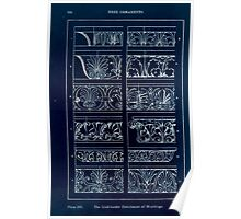 A Handbook Of Ornament With Three Hundred Plates Franz Sales Meyer 1896 0180 Free Ornaments Link Border Enrichment Moulding Inverted Poster