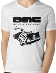 Brown Motor Company II Mens V-Neck T-Shirt