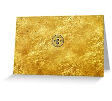Capitol Gold Greeting Card