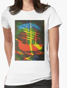 The Pequod #2 (from Meditations on Moby Dick) Womens Fitted T-Shirt