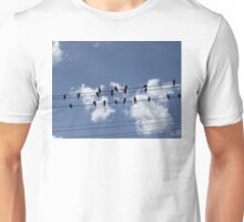 46 Birds On A Wire Unisex T-Shirt