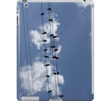 46 Birds On A Wire iPad Case/Skin