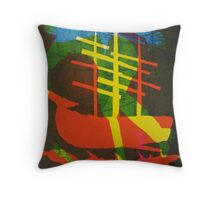 The Pequod #2 (from Meditations on Moby Dick) Throw Pillow