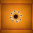 The Amazing Abbasi Hotel - Room 222 Ceiling - Esfahan - Iran by Bryan Freeman