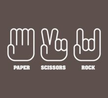 Paper Scissors ROCK Kids Clothes