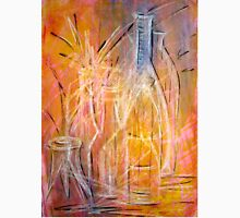 The Glass Bottles 2A mixed media painting  Unisex T-Shirt
