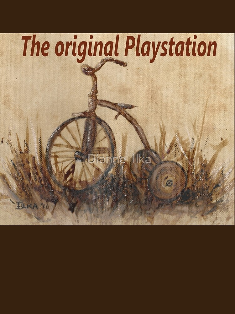 The Original Playstation  by Dianne  Ilka