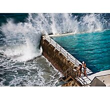 Bondi Beach Splash Photographic Print