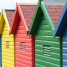 Beach Huts by mousesuzy