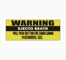 Warning - ejecto seato 4 Kids Clothes