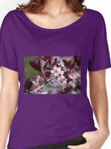 Purple Sandcherry Women's Relaxed Fit T-Shirt