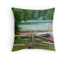 Mont Tremblant Throw Pillow