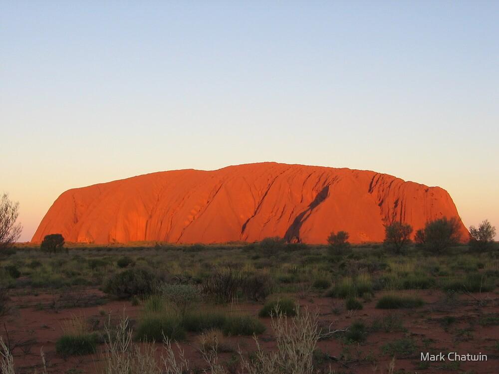 Uluru at Sunset by Mark Chatwin
