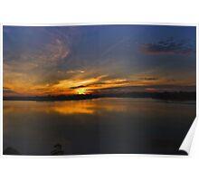 Sunset @ Mandai Reservoir, Singapore Poster