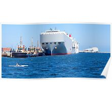 Fremantle Port, Western Australia. Poster