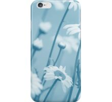 Daisies in Blue #2 iPhone Case/Skin