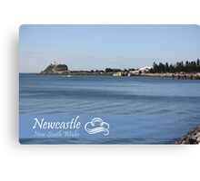 Newcastle Harbour Foreshore Canvas Print