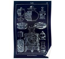 A Handbook Of Ornament With Three Hundred Plates Franz Sales Meyer 1896 0335 Vases Jar Cist Inverted Poster