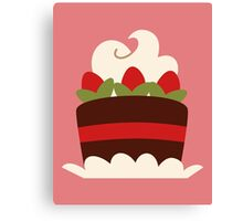 Pastry-Pink Canvas Print