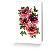 Rose Bunch Greeting Card